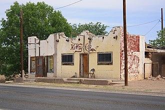 Valentine, Texas - Hi Way Cafe