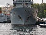 2013-08-30 Севастополь. Вспомогательное судно A512 Mosel ВМС Германии (7).JPG