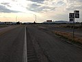 2014-07-17 18 26 40 View north near the end of Nevada State Route 318 about 22.5 miles north of the Nye County Line near the junction with U.S. Route 6 in Lund Junction, Nevada.JPG