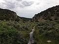 2014-08-11 17 37 20 View down Steptoe Creek in Cave Lake State Park.JPG