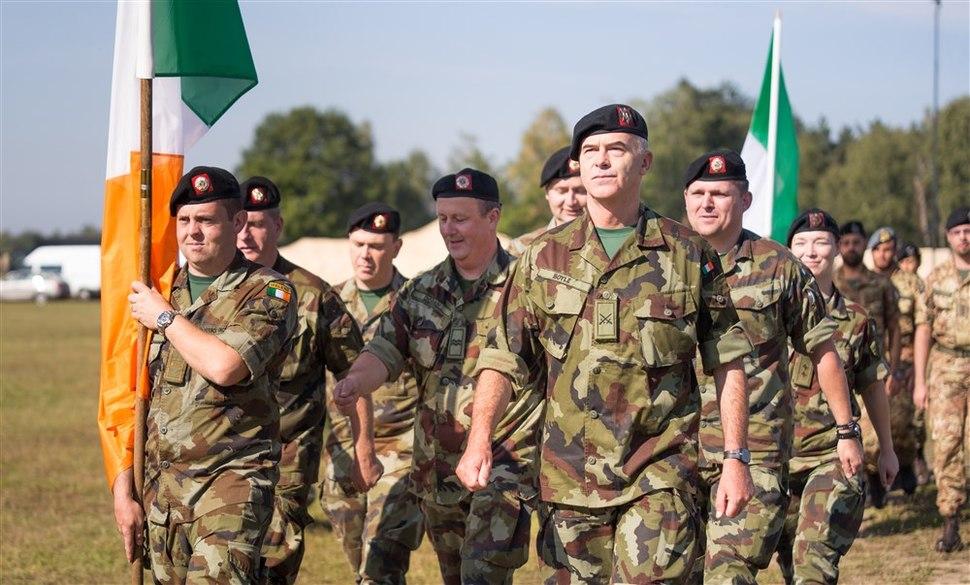 20140828 Irish delegation at opening ceremonies