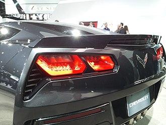 Chevrolet Corvette (C7) - 2014 Corvette Coupe Taillights.