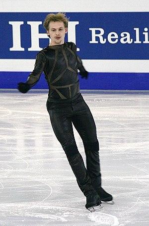 Sergei Voronov (figure skater) - Voronov at the 2014–15 Grand Prix Final