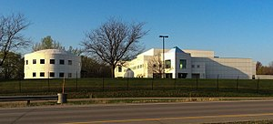 Paisley Park Records - The Paisley Park Studios complex in Chanhassen, Minnesota