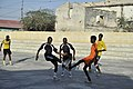 2015 03 04 AMISOM Police football players play with Dharkenley Team-5 (16690398366).jpg