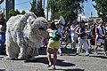 2015 Fremont Solstice parade - Polar bear 02 (19313870511).jpg