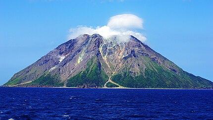 薩摩硫黄島、硫黄岳。