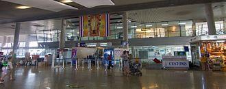 Krabi International Airport - Departures area