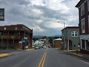 Luray, Virginia - Main Street in Luray