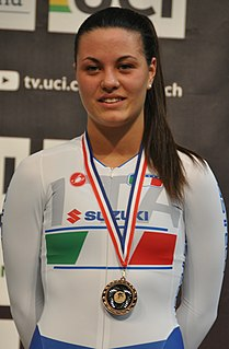 Rachele Barbieri Italian cyclist
