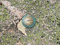 2017-07-26 12 26 43 United States Coast and Geodetic Survey marker on the summit of Mount Katahdin's Baxter Peak in Baxter State Park, Piscataquis County, Maine.jpg