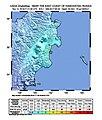 2018-11-14 Ust'-Kamchatsk Staryy, Russia M6.1 earthquake shakemap (USGS).jpg