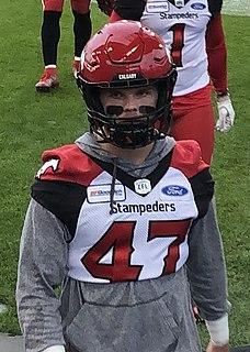 Fraser Sopik Professional Canadian football linebacker