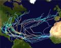 2019 Atlantic hypothetical hurricane season summary map.png