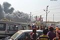 2019 Jan 14 - Prayagraj Kumbh Mela - Fire At Kichidi Distribution Tent.jpg