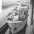 26000ste schip in haven van Rotterdam de Albion uit Harlingen De Albion, Bestanddeelnr 915-8826.jpg