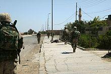 2nd Battalion 1st Marines Firefight in Fallujah 2004.jpg