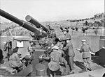 3-7 inch AA gun on Kensington Golf Links in May 1943.jpg