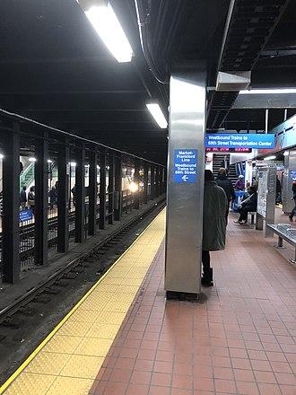 30th Street station (SEPTA Subway) - Image: 30th Street MFL
