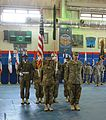 402nd AFSB cases colors, prepares for mission to support U.S. Army Pacific Command 150729-A-DU199-002.jpg