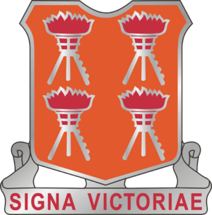 Information technology specialist (military) - Coat of Arms for the 447th Signal Battalion, training unit for Information Technology Specialists