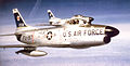 456th Fighter-Interceptor Squadron North American F-86L-45-NA Sabres.jpg