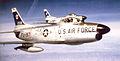 456th Fighter-Interceptor Squadron North American F-86L-45-NA Sabres.jpg