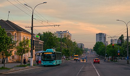 Trolleybus in Chernihiv