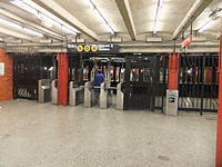 49th Street - Uptown Fare Control.JPG