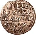 4 Pfennige, Landesdenkmalamt Berlin, Ausgrabung U5, 970 – 1275, Vorderseite.jpg