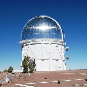 Víctor M. Blanco Telescope - Image: 4m Victor M. Blanco Telescope cropped