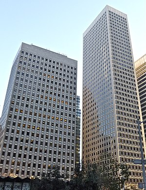Market Center (San Francisco) - 555 Market (left) and 575 Market (right)