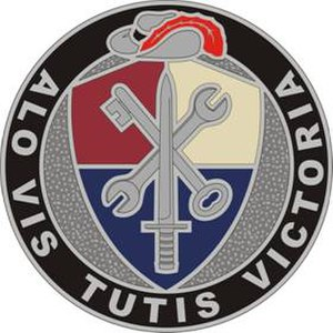 55th Sustainment Brigade (United States) - Image: 55Sustain Bde DUI