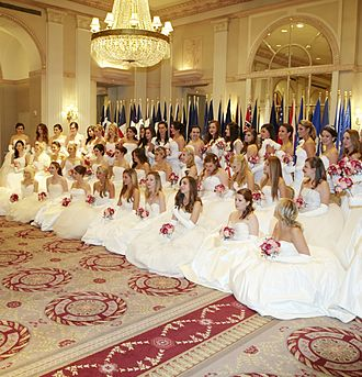 Debutante - 58th International Debutante Ball, 2012, New York City (Waldorf-Astoria Hotel)