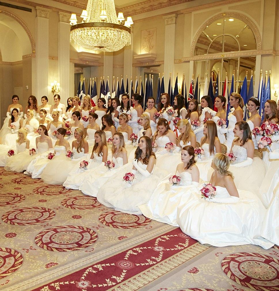 58th International Debutante Ball 2012, New York City (Waldorf-Astoria Hotel)