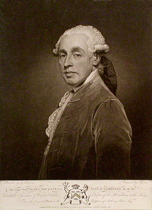 James Brudenell, 5th Earl of Cardigan - The Earl of Cardigan