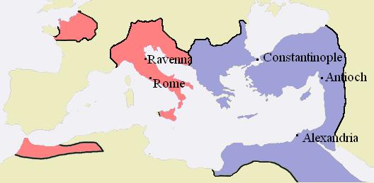 628px-Western-Eastern-Roman-Empires-476AD