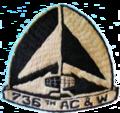 736th Aircraft Control and Warning Squadron - Emblem.png