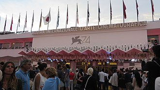 74th Venice International Film Festival - The main entrance of the Cinema Palace during the festival.