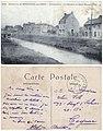 828. Environs de Boulogne-sur-Mer — Wimereux - La Rivière (le Wimereux) et le Quai Hazebrouck.jpg