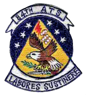 1701st Air Transport Wing - Emblem of the 84th Air Transport Squadron