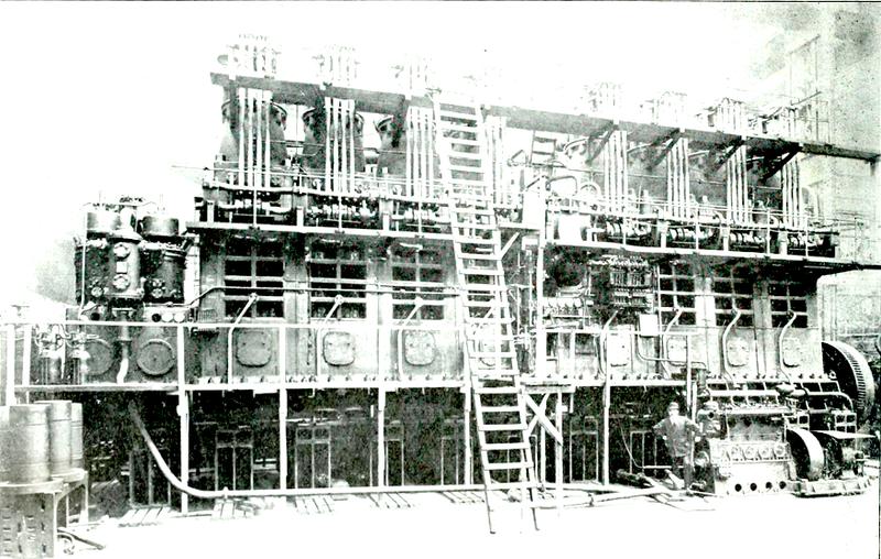 8 cylinder Burmeister & Wain Diesel engine for MS Glenapp 1920.png