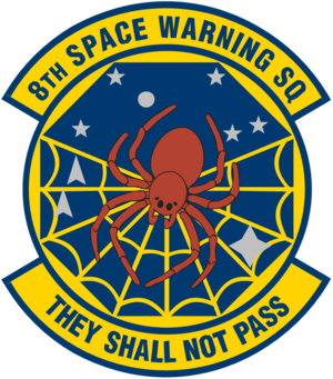 8th Space Warning Squadron - 8th Space Warning Squadron emblem