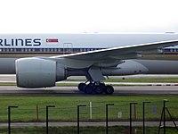 9V-SWA - B77W - Singapore Airlines