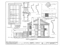 A. Wiley Hill House, Route 304, Hill's Prairie Vicinity, Bastrop, Bastrop County, TX HABS TEX,11-HILPR,1- (sheet 4 of 7).png