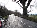 A490 near Dingle Bridge - geograph.org.uk - 1709770.jpg