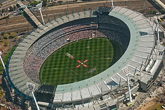 2015 International Champions Cup - Image: AFL Grand Final 2010 on the Melbourne Cricket Ground