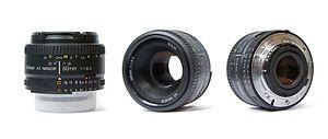 Nikon AF Nikkor 50 mm f/1.8D - AF NIKKOR 50mm f/1.8D