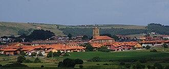 Bareyo - View of Ajo, the capital of Bareyo