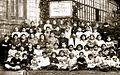 A Baha'i character-building class in Baku, Russia, 1926.jpg